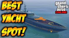 GTA 5 Online - BEST YACHT SPOT GTA 5!