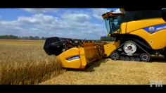 Wheat Harvest with New Holland 2016. !FM!.
