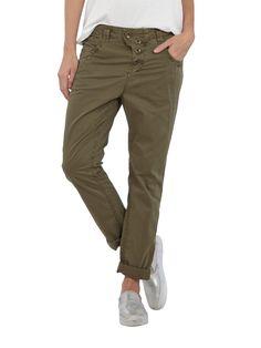 Tom Tailor ANti fit 5-Pocket-Hose in Olivgrün Fashion ID Sale 39,95