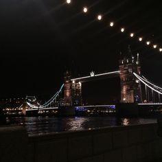 Great day out in London #london #towerbridge #londoneye #towerhill #pretty #lights #bridge #night #river #Thames by soph1208