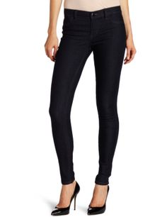 Calvin Klein Jeans Women's Power Stretch Legging           ($39.99) http://www.amazon.com/exec/obidos/ASIN/B0083FWBWY/hpb2-20/ASIN/B0083FWBWY Good feel, good fit, good length. - They're great with heels, flats or boots and can be paired with a blouse, sweater or Tshirt. - They fit snug, very body hugging & slimming.