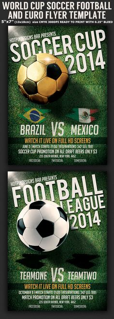 Soccer Cup Flyer Flyer template - soccer flyer template