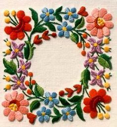 """Hungarian Braided Chain Stitch – Embroidery Patterns Image search results for """"kalocsai minta sablon"""" Mexican Embroidery, Hungarian Embroidery, Brazilian Embroidery, Learn Embroidery, Crewel Embroidery, Ribbon Embroidery, Embroidery Tattoo, Cushion Embroidery, Embroidery Flowers Pattern"""