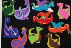 Flannel: 10 Dizzy Dragons