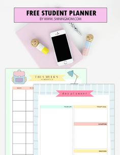 I truly enjoyed creating this free printable student binder that I am sharing on the blog today. I dearly and passionately created this planner because I have a soft spot for all the students out t…