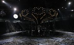 Catwalk tour: the top S/S 2014 women's fashion week venues / Louis Vuitton: A mini version of the carousel from S/S 2012