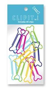 Dog bone paper clips! @Christine Martinez