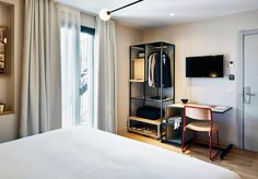 Guestroom in the Hotel Brummell, Poble-Sec, Barcelona