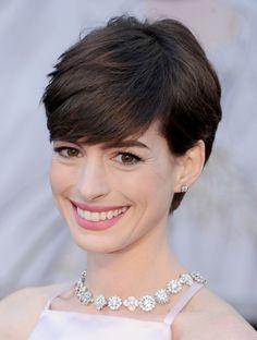 Anne Hathaway's Hair