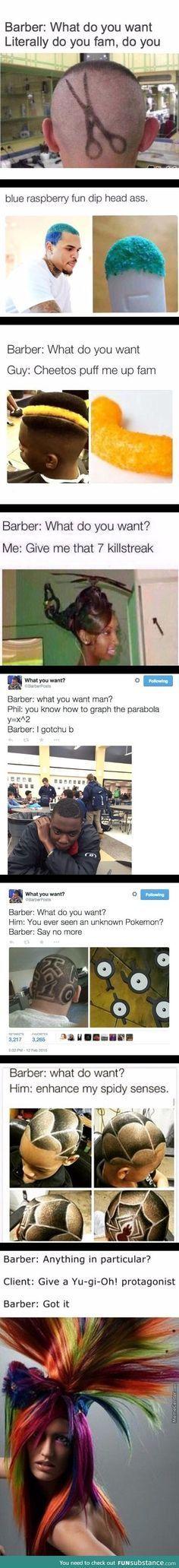 Barber meme comp.