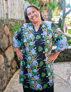73cde915504 39 Best MuuMuu, Large, Plus Size island Print house dress images in ...