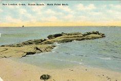Moth Rocks ocean Beach
