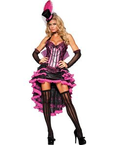 Burlesque Beauty Adult Women's Costume WHY MUST IT BE PINK?! :,( $199.99