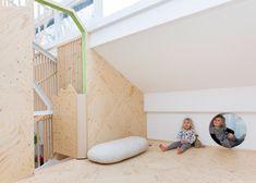 Lipton Plant adds indoor treehouse to nursery in Hackney