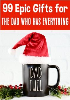 Christmas Gift Ideas for Dad! Gift Ideas for Dad! The BEST Christmas Gifts for your Husband from you or the Kids. These are the perfect fun and funny gifts for the Dads who have everything! Trending Christmas Gifts, Christmas Gifts For Boyfriend, Christmas Gifts For Men, Christmas Gift Guide, Christmas Humor, Boyfriend Gifts, Christmas Fun, Father Christmas, Teen Guy Gifts