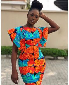 Linda Osifo is pretty much a stunner when it comes to fashion especially in African print dress styles. I have compiled african print styles that have been worn African Fashion Ankara, African Fashion Designers, Latest African Fashion Dresses, African Dresses For Women, African Print Dresses, African Print Fashion, African Attire, African Prints, Moda Afro