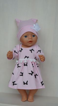 Outfit for Baby Born(Sister), Baby Annabell or other doll till 43cm 17inch | eBay