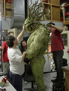 suit test for Man-Thing, 2005
