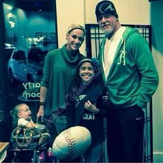 very cool pix of the rock triple h stephanie the