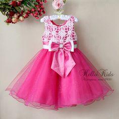 vestido de festa infantil 8