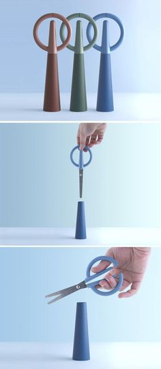 Alessio Romano Designs Scissors Hidden As A Decorative Object