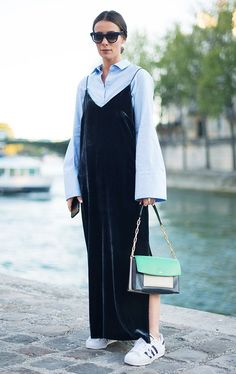 Getty Images Street Style : Day Eight - Paris Fashion Week Spring/Summer 2017 By: Vanni Bassetti People: Alice Barbier Street Style Outfits, Look Street Style, Look Fashion, Girl Fashion, Fashion Outfits, Womens Fashion, Paris Fashion, Net Fashion, Latest Fashion