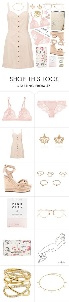 """""""Cassiopeia #390"""" by brie-the-pixie ❤ liked on Polyvore featuring La Perla, Miss Selfridge, Sutra, Kendall + Kylie, MANGO, Herbivore, Eyevan 7285, Ivanka Trump and Lana"""