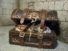 1/12th scale pirate chest