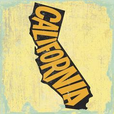 Trademark Fine Art 'California Word Map' Canvas Art by Art Licensing Studio, Size: 24 x 24 Canvas Artwork, Framed Artwork, Canvas Prints, Art Prints, Wall Art, Canvas Paintings, California Art, Big Canvas, Typography Art