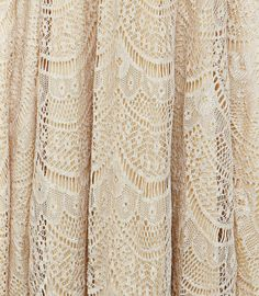 Gold Scalloped Lace