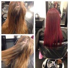 New fall look! Red hair