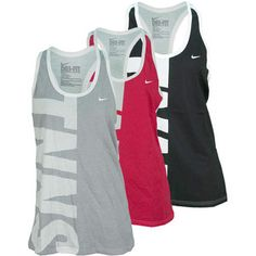Optimize your training workouts in the Nike Women`s TNNS Tank. Functional and fun, this Dri-FIT tank provides moisture management so you can continue to feel dry and comfortable all match long. The racerback straps offer comfort for the shoulders while allowing complete freedom of movement.#endlesstennis #nike #tennis #tennistanks