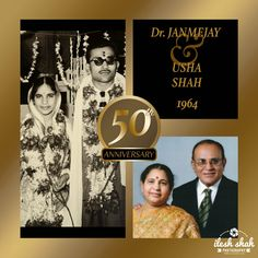 50th Anniversary of Dr. Janmejay & Usha Shah