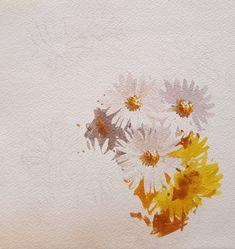 2017수업시연중에~~ : 네이버 블로그 Watercolor Flowers, Watercolor Paintings, Watercolour, Drawings, Floral, Blog, Floral Paintings, Botany, Idea Paint
