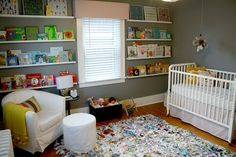 rain gutter as storage infant room nursery bookshelf nursery rh pinterest co uk