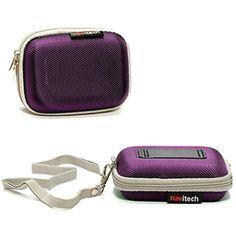 Jet Black Hard EVA Carry Case Compatible with The Canon VIXIA Mini X by DURAGADGET