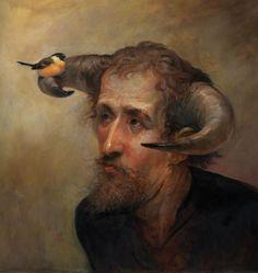 """Bullfinch""by Omar Rayyan"