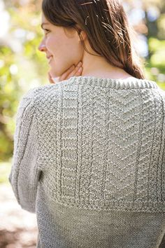 Cumbria Sweater - Knitting Patterns and Crochet Patterns from KnitPicks.com by Edited by Knit Picks Staff