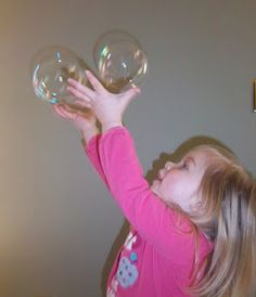 """""""Babbles and Bubbles: How Bubbles Help Your Child Learn Language"""" Definitely love these ideas for using bubbles in therapy!"""