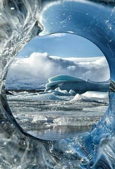 Ice window, Greenland