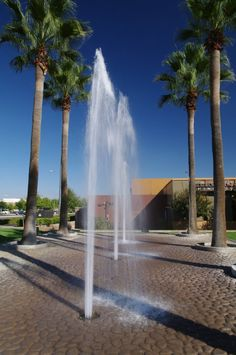 Fountain at the Shops at River Park, Fresno CA