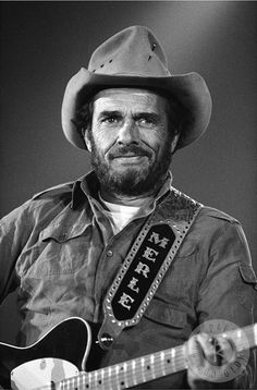 Merle Haggard (April 6, 1937 – April 6, 2016) was an American country music songwriter, singer, guitarist, fiddler, & instrumentalist. Along with Buck Owens, Haggard & his band the Strangers helped create the Bakersfield sound, which is characterized by the twang of Fender Telecaster & the unique mix with the traditional country steel guitar sound, new vocal harmony styles in which the words are minimal. In 1994, he was inducted into the Country Music Hall of Fame. He died on his 79th…