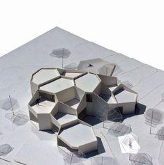 Architettura moderna Trail of Leeds Maquette Architecture, Architecture Concept Diagram, Parametric Architecture, Pavilion Architecture, Organic Architecture, Architecture Drawings, Futuristic Architecture, Interior Architecture, Angular Architecture