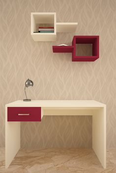 HomeLane: Full Home Interior Design Solutions, Get Instant Quotes. Study Tables, Vertical Storage, Cozy Corner, Organize Your Life, Small Homes, Home Interior Design, Living Spaces, The Unit, Shelves