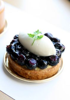 Blueberry Tarte   Pan Pacific Yokohama Bay Hotel Tokyo
