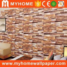 Home sticker 3d brick wallpaper pvc home decor wall 3d wallpaper