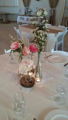Vintage Wedding Center Piece Southern Traditions Wedding Corrdinating