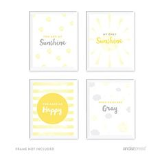 Andaz Press Nursery Kids Room Wall Art Decor Lullaby Collection You are My Sunshine 4Pack Poster Sign Decorations and Party Decor Baptism Easter Kids Gift Ideas Unframed *** Continue to the product at the image link. (Note:Amazon affiliate link)