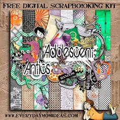 Digital scrapbook freebie