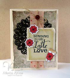 Latte Love - Verve Stamps Inspiration Gallery